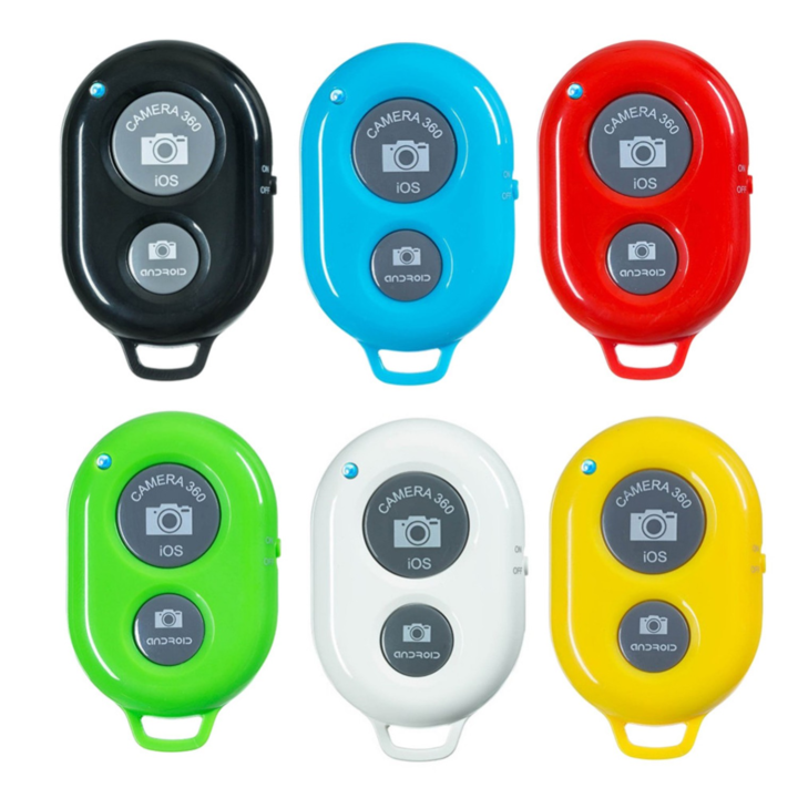 Universal Mini Bluetooth Wireless Self-timer Shutter Remote Control For  Android & iPhone